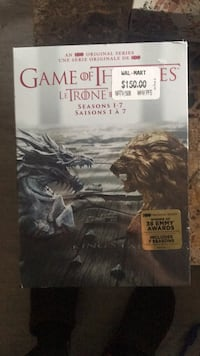 Game of thrones season 1-7 unopened London, N6E 3P7