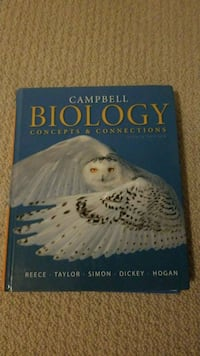 Biology Concepts & Connectipns eighth edition Leesburg, 20175