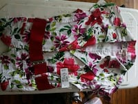 BRand new with tags- floral short sleeved blazer 601 km