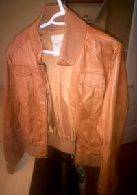 Pleather jacket Brantford