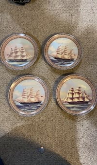 Clipper collection by Baum Brothers  plates with wall mounts Scotch Plains, 07076