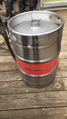 Stainless steel keg 58 L $100 firm  [TL_HIDDEN]