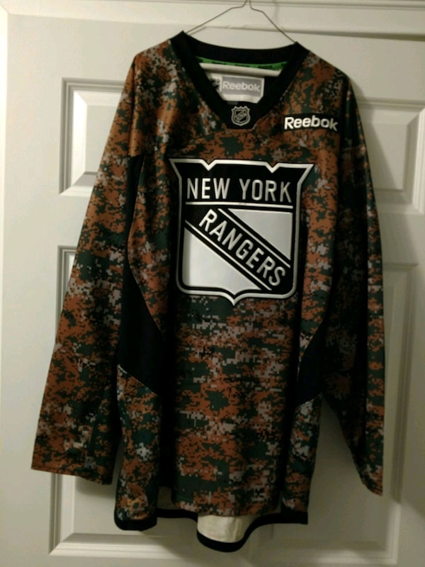 Used NewYork Rangers Camo Jersey XXL for sale in Bethpage - letgo 71fd136f7d4