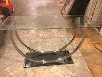 Accent table with mirrored bottom Brandywine, 20613