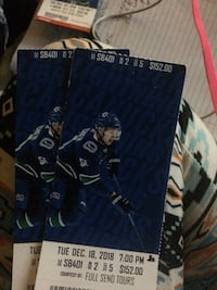 SPORTS BAR CANUCKS TICKETS Vancouver, V7Y