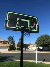 black and green basketball hoop Corona