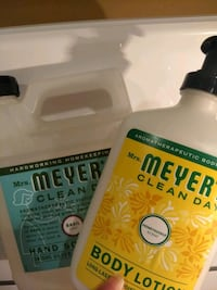 Mrs Meyers Soap and Lotion 44 km