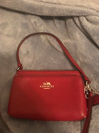 Women's red Coach leather sling bag San Antonio, 78249