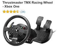 black and gray steering wheel game controller Toronto, M1E 1G8