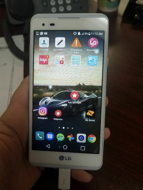 Boost mobile LG phone