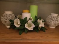 Vita petaled blommor all forbut without candle if you want to buy with candle it 50 Malmö, 211 34