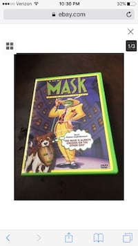 The Mask Animated Series DVD Cliffside Park, NJ, USA