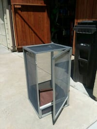 Screen cage... with hinged door Campbell, 95008