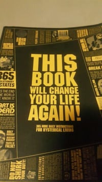 This Book Will Change Your Life Again  Toronto, M6K 3G1