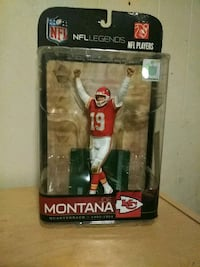 NFL Legends JOE MONTANA KC CHIEFS action figure South Bend, 46628