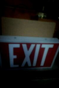 Brand NEW Battery Powered EXIT SIGNS Edmonton, T5G 2A4