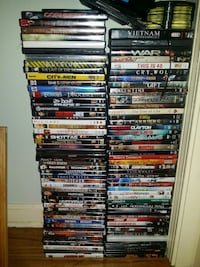 120 dvds in case, several loose dvds with no case Norwich
