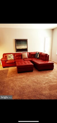Sectional Couch with ottoman  Sterling, 20165