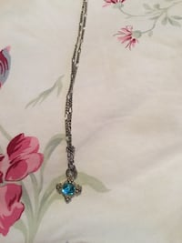 Teal Necklace  Granite City