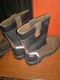 2 New Pairs of Work Boots in Excellent  Condition. Haltom City, 76117