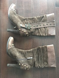 Cowboy style boots brown fashion Toronto, M5J 0B1
