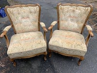 Vintage wooden arm living room chairs Camp Hill, 17011