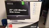 20' inch ACER LCD Widescreen Monitor Gloucester, 01930