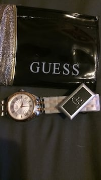 Guess female watch. Never used. Never worn. Still has protective paper on wrist band Langley, V3A 3V2