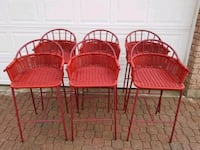 Red Barrel Back Bar Chairs Toronto, M6P 3V4