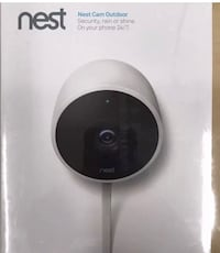 black and gray Nest learning thermostat box 55 mi