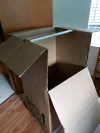 Moving boxes (big wardrobe boxes, dish pack boxes, Port St. Lucie, 34983