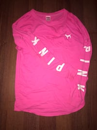 PINK VS long sleeve size: xs/s  Mission, 78574