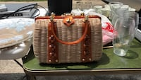 brown purse Hoover, 35216