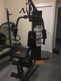 Home gym set 3737 km