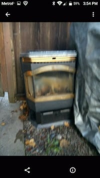 brown and black wooden cabinet Portland