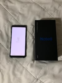 Very gently used Samsung Galaxy Note 8 with convertible wireless fast charger 64gb VERIZON Vacaville, 95687