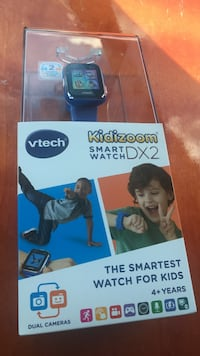 black VTech Kidizoom smart watch in box Sterling, 20166