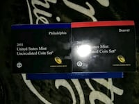 2011-P & D uncirculated set 28 coins in all Philadelphia, 19146