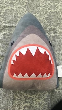 gray and red shark throw pillow Annapolis, 21403
