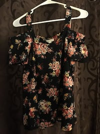 black and pink floral sleeveless dress Kaneohe, 96782