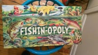 Fishin'-opoly original board game. Philadelphia, 19111