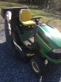 John Deere 155C Riding Mower with Bagger Manassas
