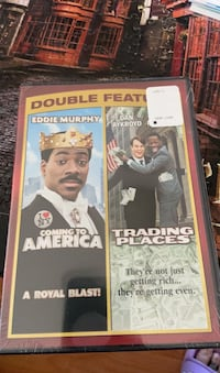 DVD double feature, coming to America, trading places, Inwood, 25428
