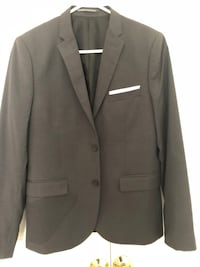 Black notch lapel suit jacket Bethlehem, 18017