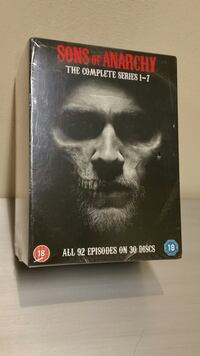 """SONS of ANARCHY"" - NEW!! - COMPLETE SERIES on DVD (Region 2) - firm $ Arlington, 22204"