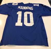 Eli Manning Jersey. Never been worn. Still has tag. Size small. Authentic jersey New York, 10012