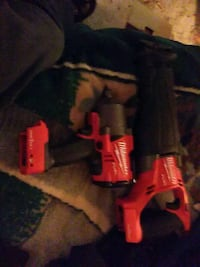 red and black Milwaukee cordless power drill Midland, 79706