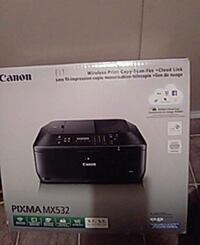 black Canon Pixma desktop printer box Edmonton, T5G 2B8
