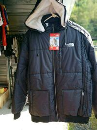 black zip-up jacket Sugarloaf, 18249