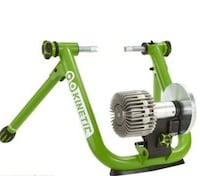 Kinetic bike trainer